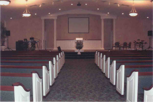 "image of Acts II auditorium in ""When and Where We Meet"" page"