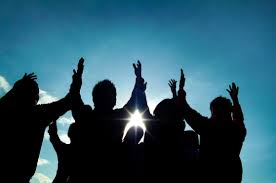 image of lifted hands - What to Expect at Acts II Ministries